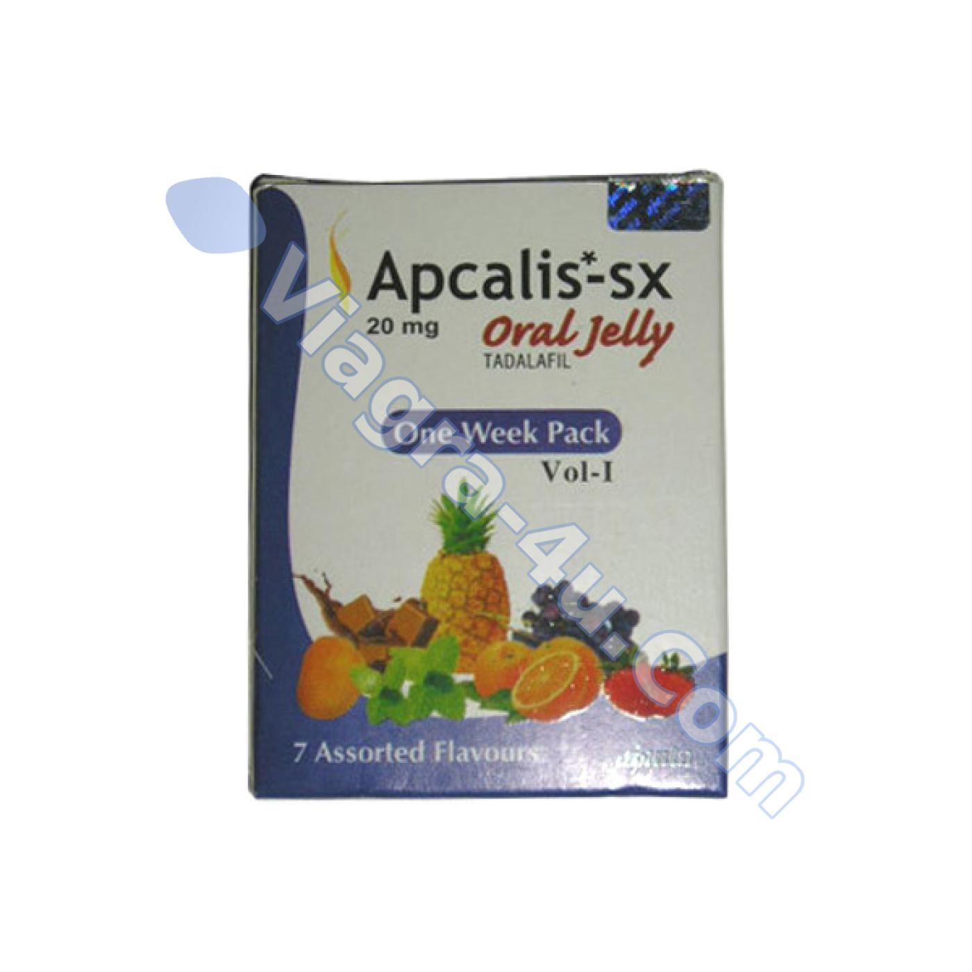 Buy Apcalis-sx Oral Jelly 20 mg without prescription