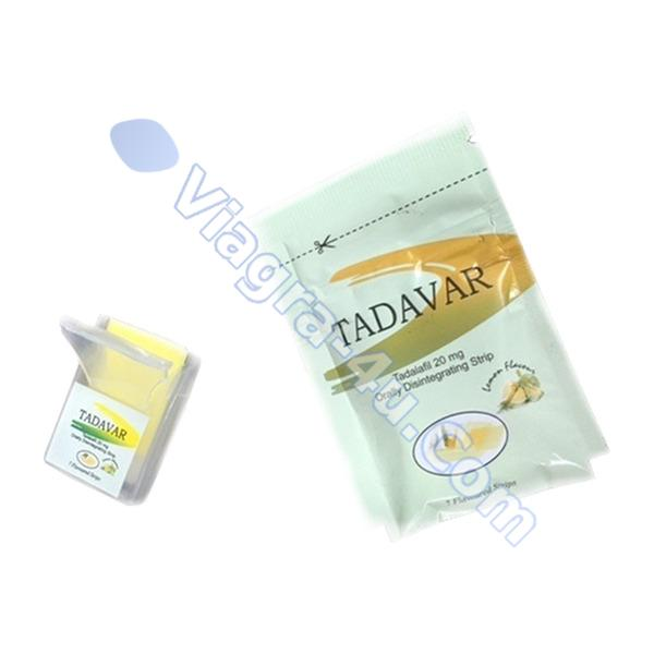 Tadalia Tadalafil Oral Strip 20mg