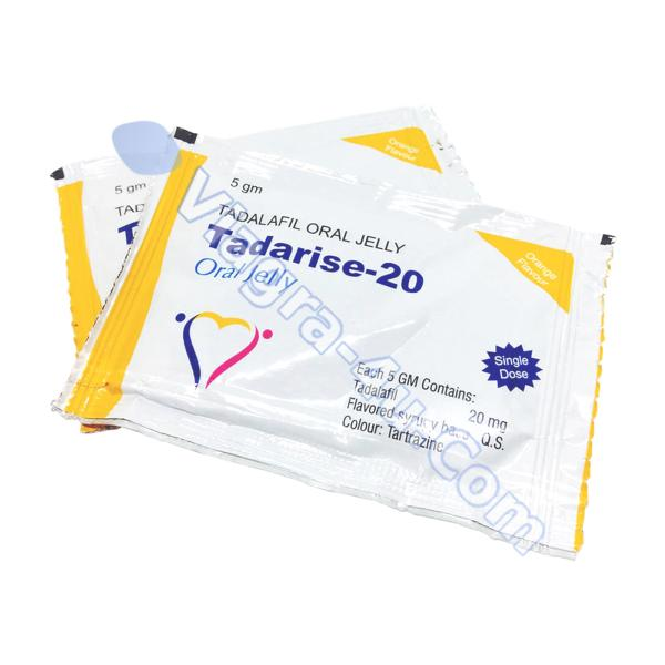 Tadarise Oral Jelly (Tadalafil) 20mg