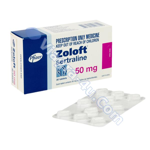 Zoloft (Sertraline) 50mg