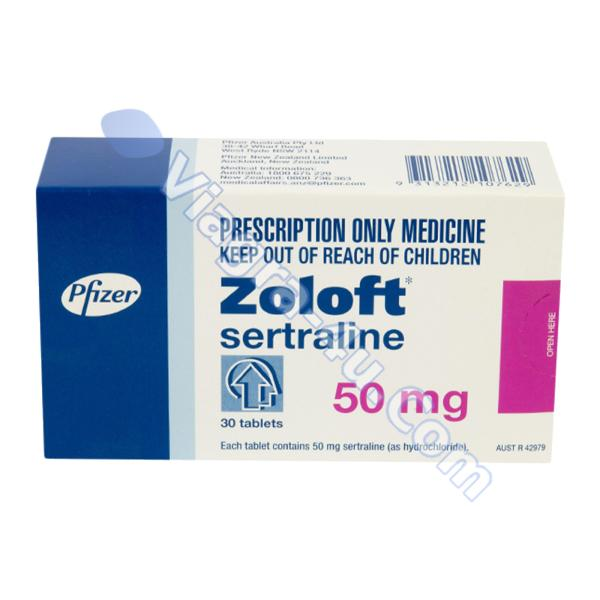 Zoloft (Sertralina) 50mg