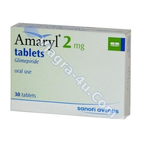 AMARYL Rx Only (glimepiride tablets) 1, 2, and 4 mg