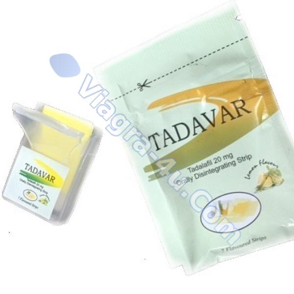 Tadalia 20mg (Tadalafil Oral Strips)